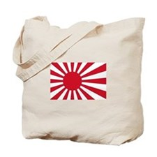 Cute Japanese flag Tote Bag