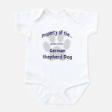 German Shepherd Property Infant Bodysuit