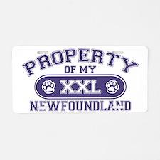 newfoundlandproperty Aluminum License Plate