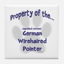 Wirehaired Property Tile Coaster