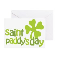 happystpaddys_dark Greeting Card