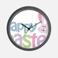 happyeaster Wall Clock