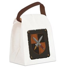 metal plate Canvas Lunch Bag