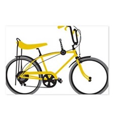 bananna bike lite Postcards (Package of 8)