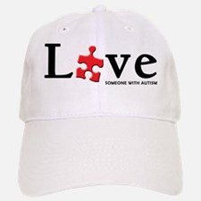 Love Someone with Autism Baseball Baseball Cap