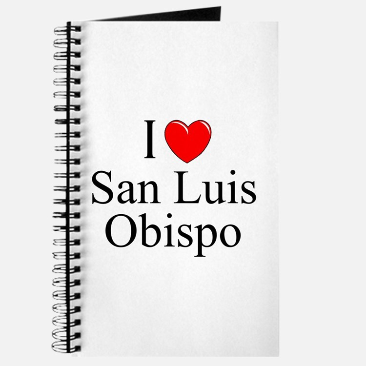 """I Love San Luis Obispo"" Journal"