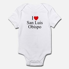 """I Love San Luis Obispo"" Infant Bodysuit"