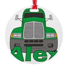 alex-b-trucker Ornament