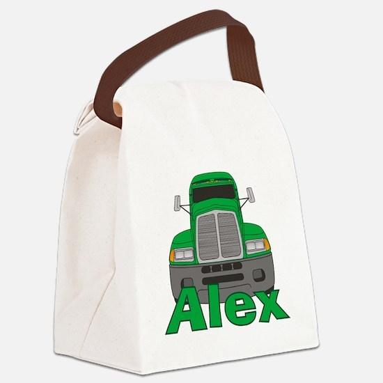 alex-b-trucker Canvas Lunch Bag