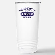 morkieproperty Stainless Steel Travel Mug