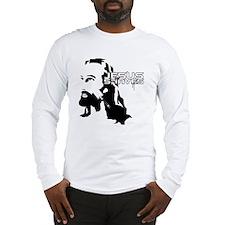 Jesus Shaves copy Long Sleeve T-Shirt