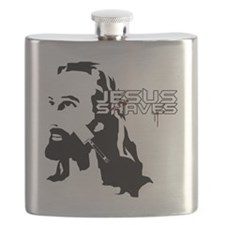 Jesus Shaves copy Flask