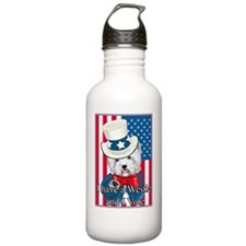 Uncle Sam Westie Water Bottle
