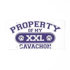 cavachonproperty Aluminum License Plate