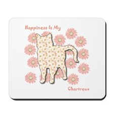 Chartreux Happiness Mousepad
