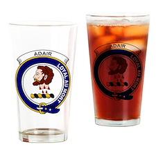 Adair  Clan Badge Drinking Glass