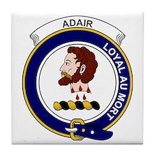 Adair  Clan Badge Tile Coaster