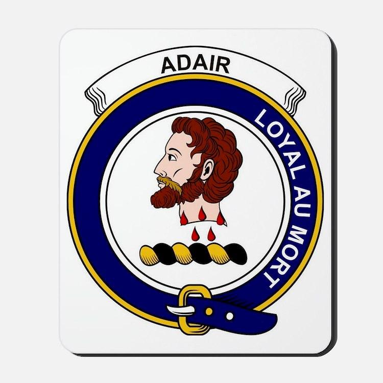 Adair  Clan Badge Mousepad