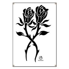 TwinRoses1-white Banner