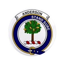 "Anderson Clan Badge 3.5"" Button"