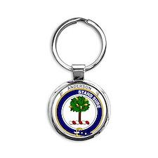 Anderson Clan Badge Round Keychain