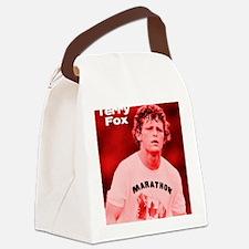 HeroTerryFox Canvas Lunch Bag