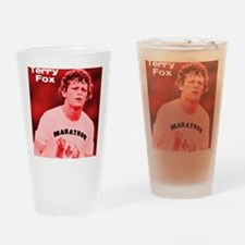 HeroTerryFox Drinking Glass