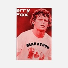 HeroTerryFox Rectangle Magnet