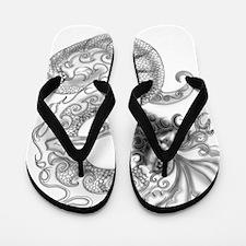 dragon-art3 Flip Flops