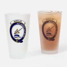 Barclay Clan Badge Drinking Glass