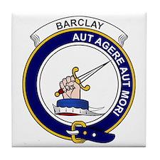 Barclay Clan Badge Tile Coaster
