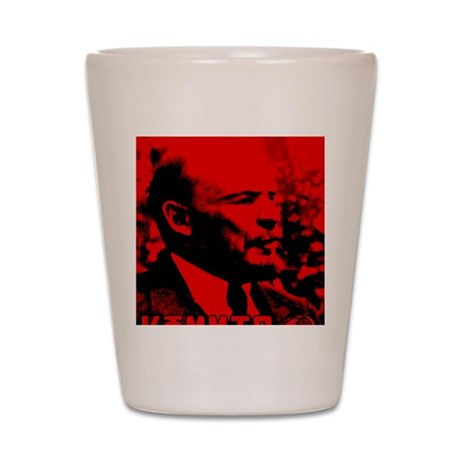 Lenin Speech Shot Glass