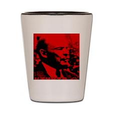 Lenin Speech Shot Glass