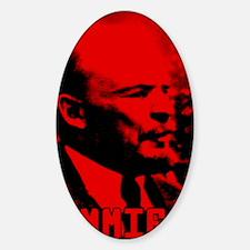 Lenin Speech Sticker (Oval)