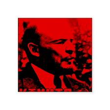 "Lenin Speech Square Sticker 3"" x 3"""