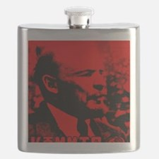 Lenin Speech Flask