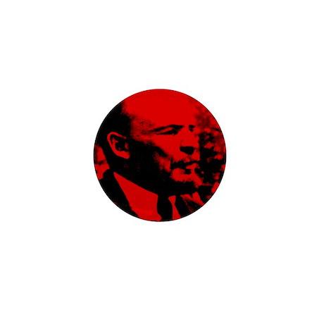Lenin Speech Mini Button