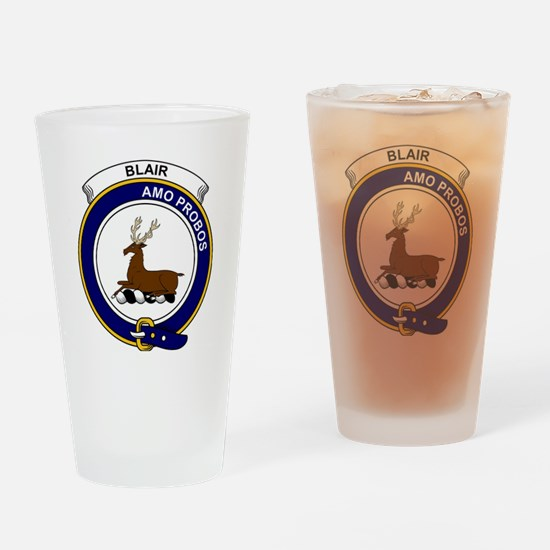 Blair Clan Badge Drinking Glass