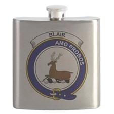 Blair Clan Badge Flask