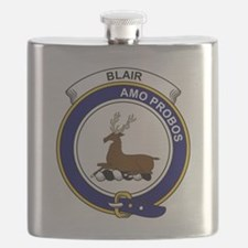 Blair Clan Badge Flask