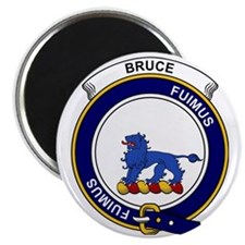 Bruce Clan Badge Magnet