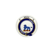 Bruce Clan Badge Mini Button