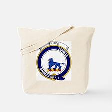 Bruce Clan Badge Tote Bag