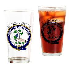 Burnett Clan Badge Drinking Glass