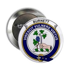 "Burnett Clan Badge 2.25"" Button"