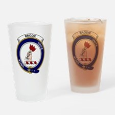 Brodie Clan Badge Drinking Glass