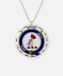 Brodie Clan Badge Necklace