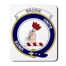 Brodie Clan Badge Mousepad
