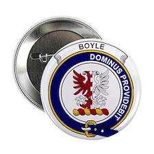 """Boyle Clan Badge 2.25"""" Button"""