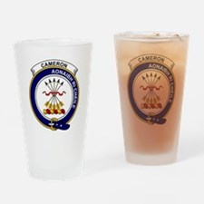 Cameron Clan Badge Drinking Glass